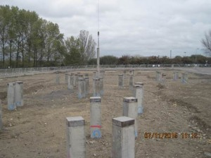132kV Substation Pile Installation Completed