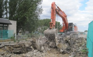 Demolition of a redundant Cargill weighbridge