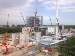 Tilbury Green Power Construction Works (6 June 2016)