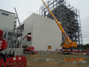 Turbine Building Cladding 030616